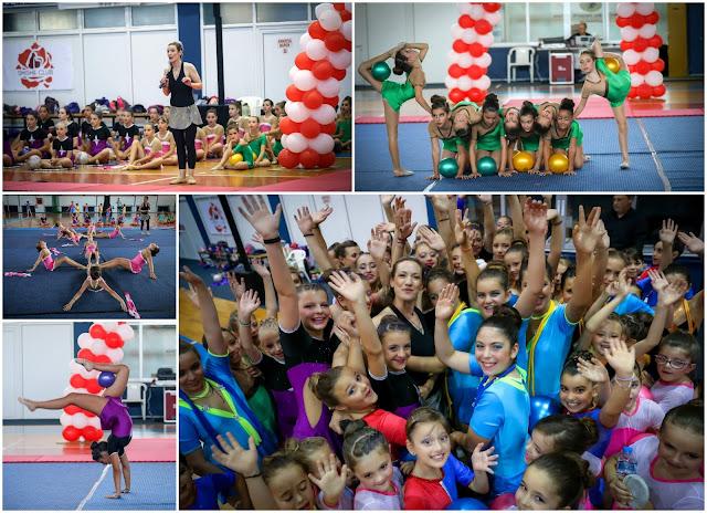 Μαγευτική Παράσταση Ρυθμικής Γυμναστικής στην Ηγουμενίτσα (+ΦΩΤΟ)