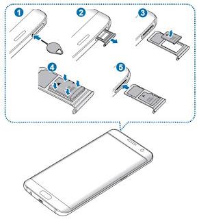 Come rimuovere scheda di memoria SD da Samsung Galaxy S7 e S7 edge