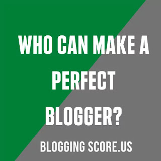 Who Can Make A Perfect Blogger