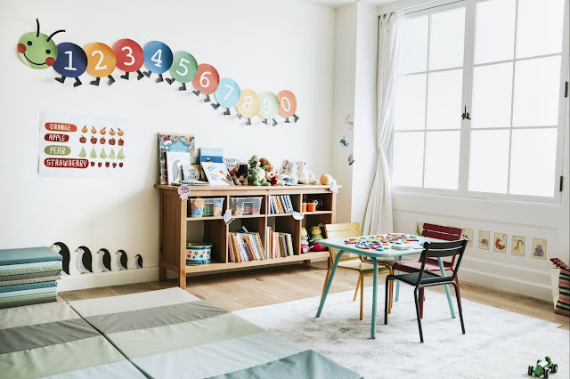 wall painting design ideas for classroom