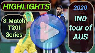 Australia vs India T20I Series 2020