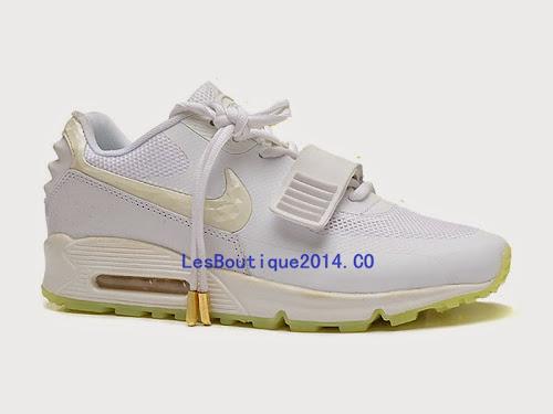 wholesale dealer f2e8f 9fab9 Nike Air Max 90 Yeezy 2 Design by Blkvis Pas Cher Chaussure Pour Femme   Lesboutique2014.co
