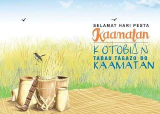 To all Sabahan friend ~ Kotobian Tadau Tagazo Do Kaamatan