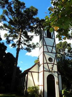 Igreja da Aldeia do Imigrante, em Nova Petrópolis, RS