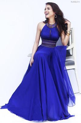 Vestidos de xv años azul rey