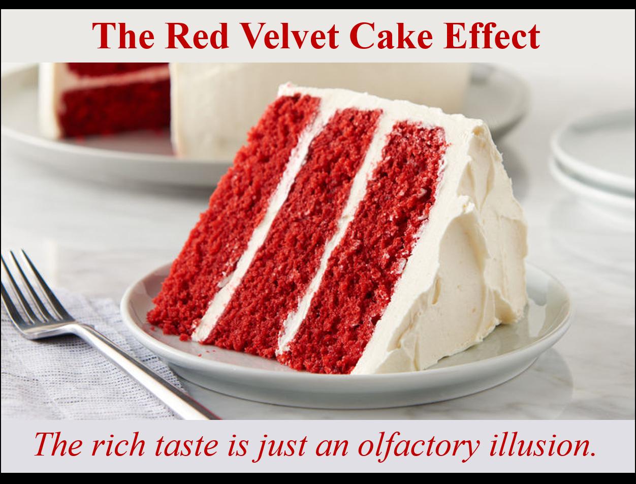 John the Math Guy: The Red Velvet Cake Effect