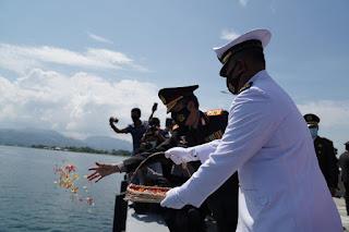 Hari Pahlawan, Kapolda Sulbar Irjen Pol Eko Budi Jadi Irup Upacara Tabur Bunga