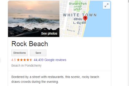Tourist Places in Pondicherry