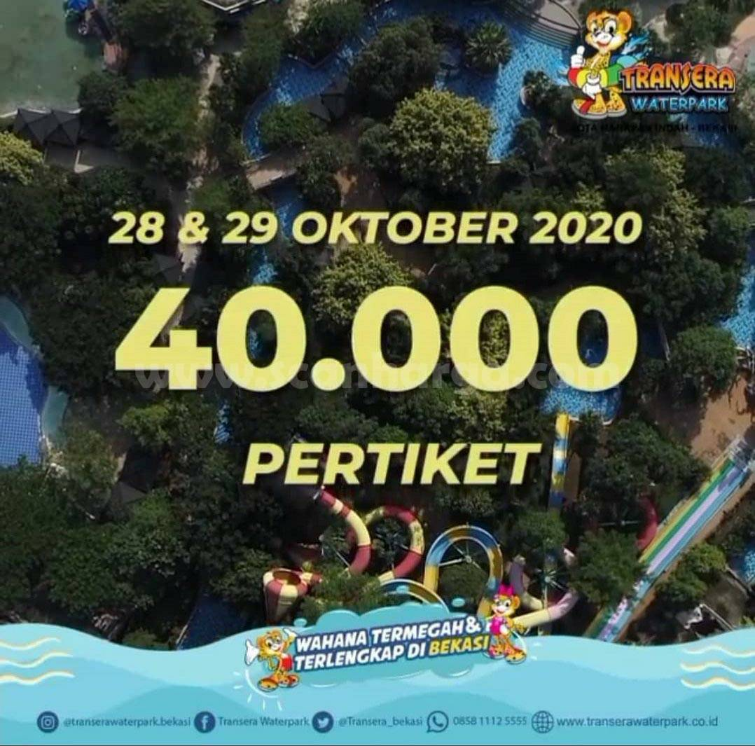Promo Transera Waterpark Liburan Akhir Bulan 28 - 31 Oktober 2020 1