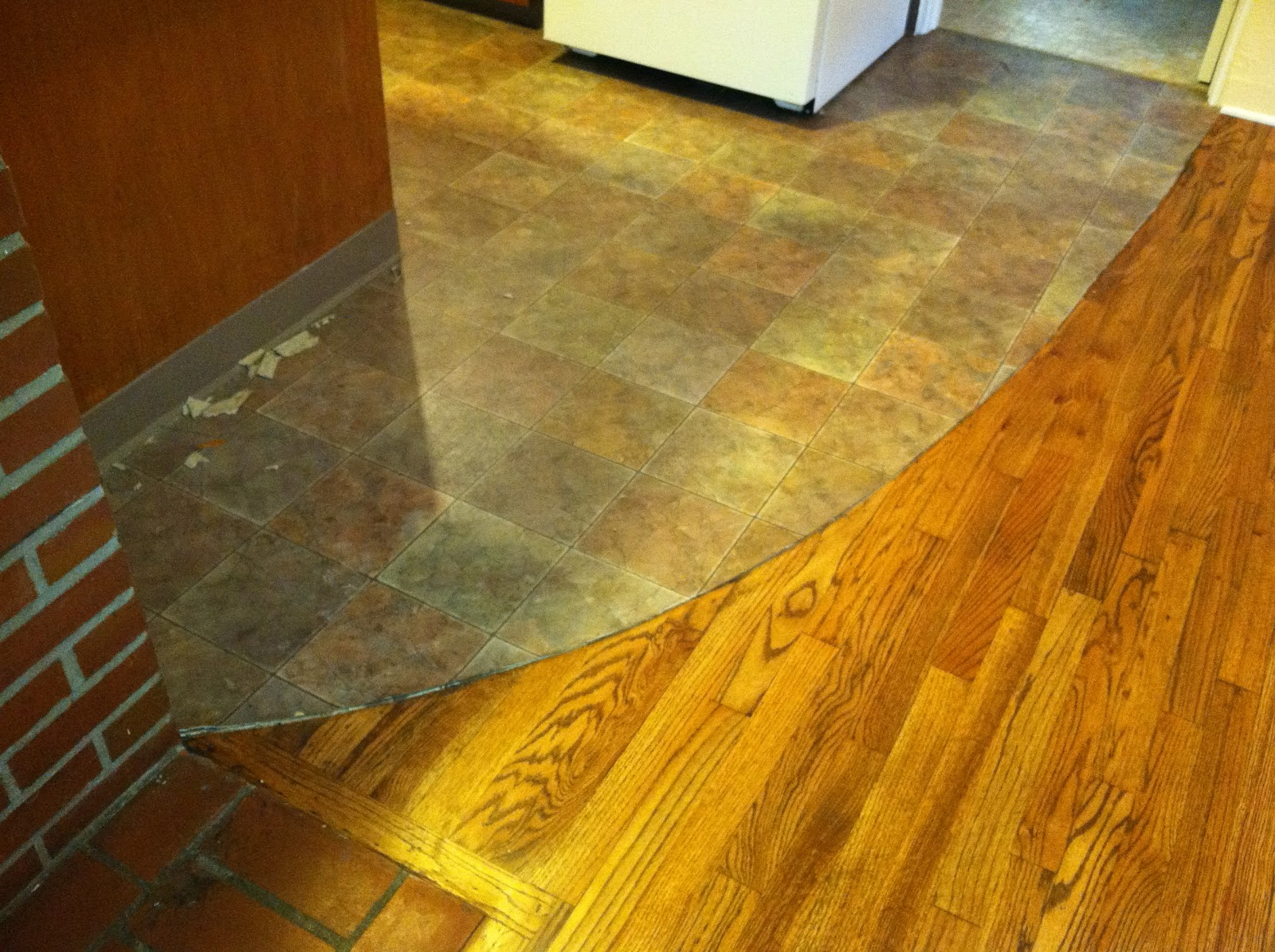 Consider It Done Construction Custom Flooring Transition