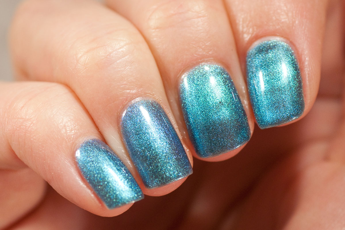 Pink Gellac Devotion Collection swatches - 310 Temping Teal