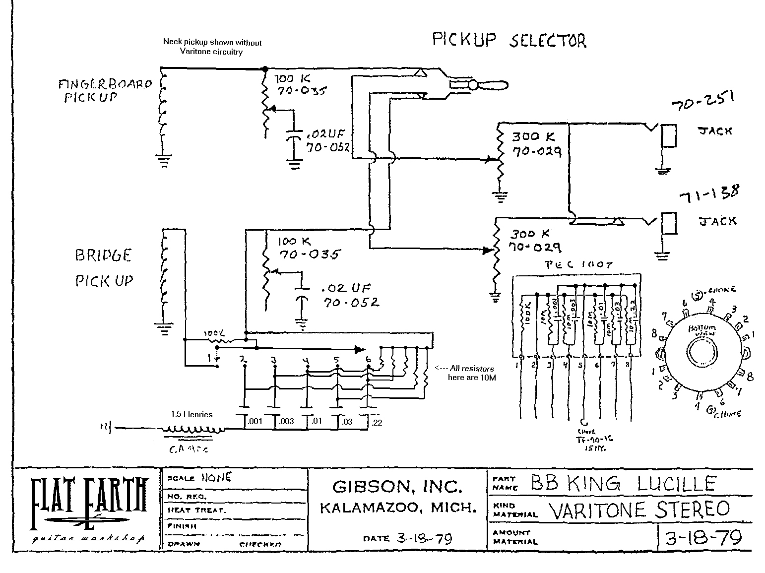 Gibson 355 Wiring Diagram   Online Wiring Diagram