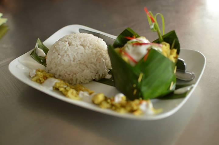 the restaurant at Mad Monkey Hostel, Siem Reap