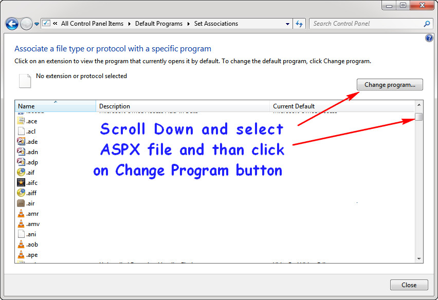 How To Open ASPX Files In Windows 7 | KeepTheTech