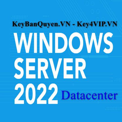 Mua bán key bản quyền Windows Server 2022 Datacenter.
