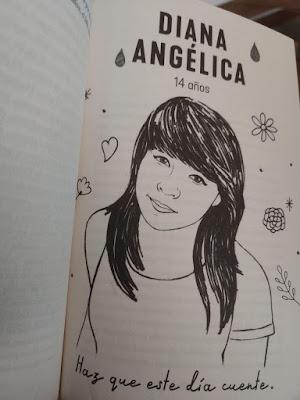 Diana Angélica, fotografía interior de La fosa de agua