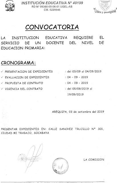 PORTADA - UGEL AREQUIPA SUR : 2019