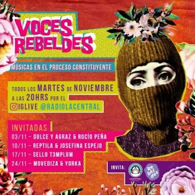Radio LaCentral y Agencia Rebeldes se unen en el programa 'Voces Rebeldes'
