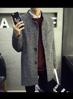 Mantel Pria Korea Model Terbaru Juni 2016 MC0002