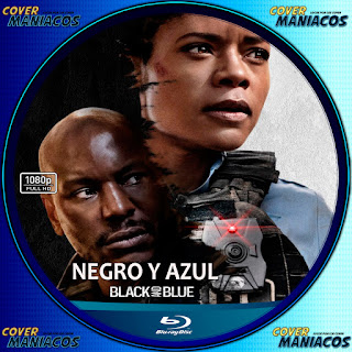 GALLETA NEGRO Y AZUL-BLACK AND BLUE 2019[COVER BLU-RAY]