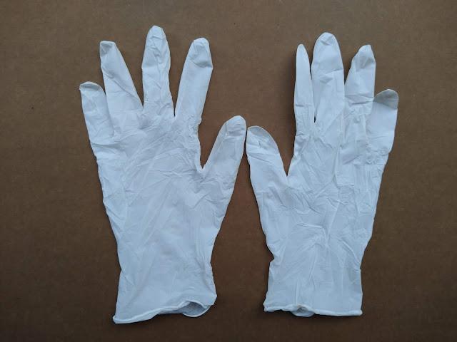 Găng tay cao su y tế nitrile 9'