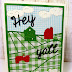 Create a Gingham Farm Day Card