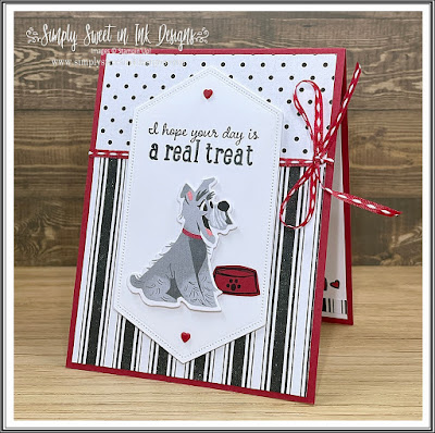 Fun mystery stamping with the Playful Pets suite!