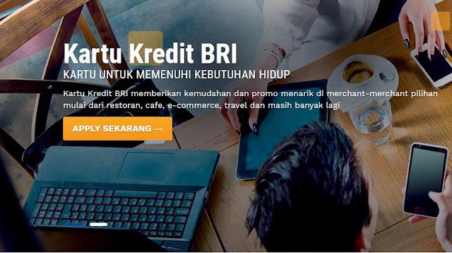 Cara Bayar Kartu Kredit BRI