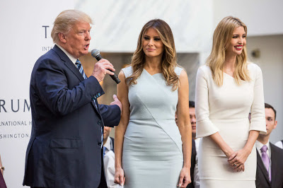 Trump, Melania and Ivanka