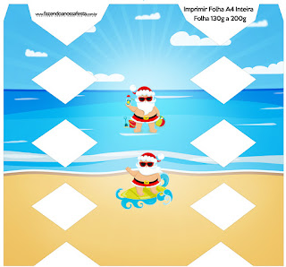 Christmas in the Caribbean: Free Printable Boxes.