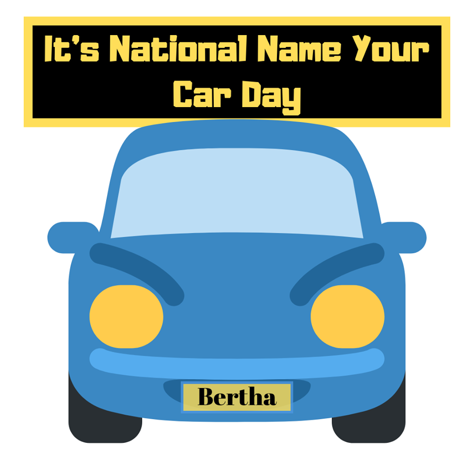 National Name Your Car Day Wishes Beautiful Image