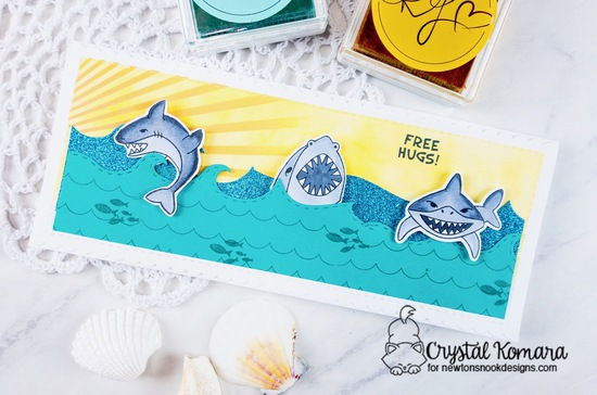 Free hugs by Crystal features Shark Bites by Newton's Nook Designs; #newtonsnook