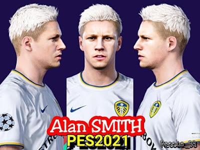 PES 2021 Faces Alan Smith by Recoba_98