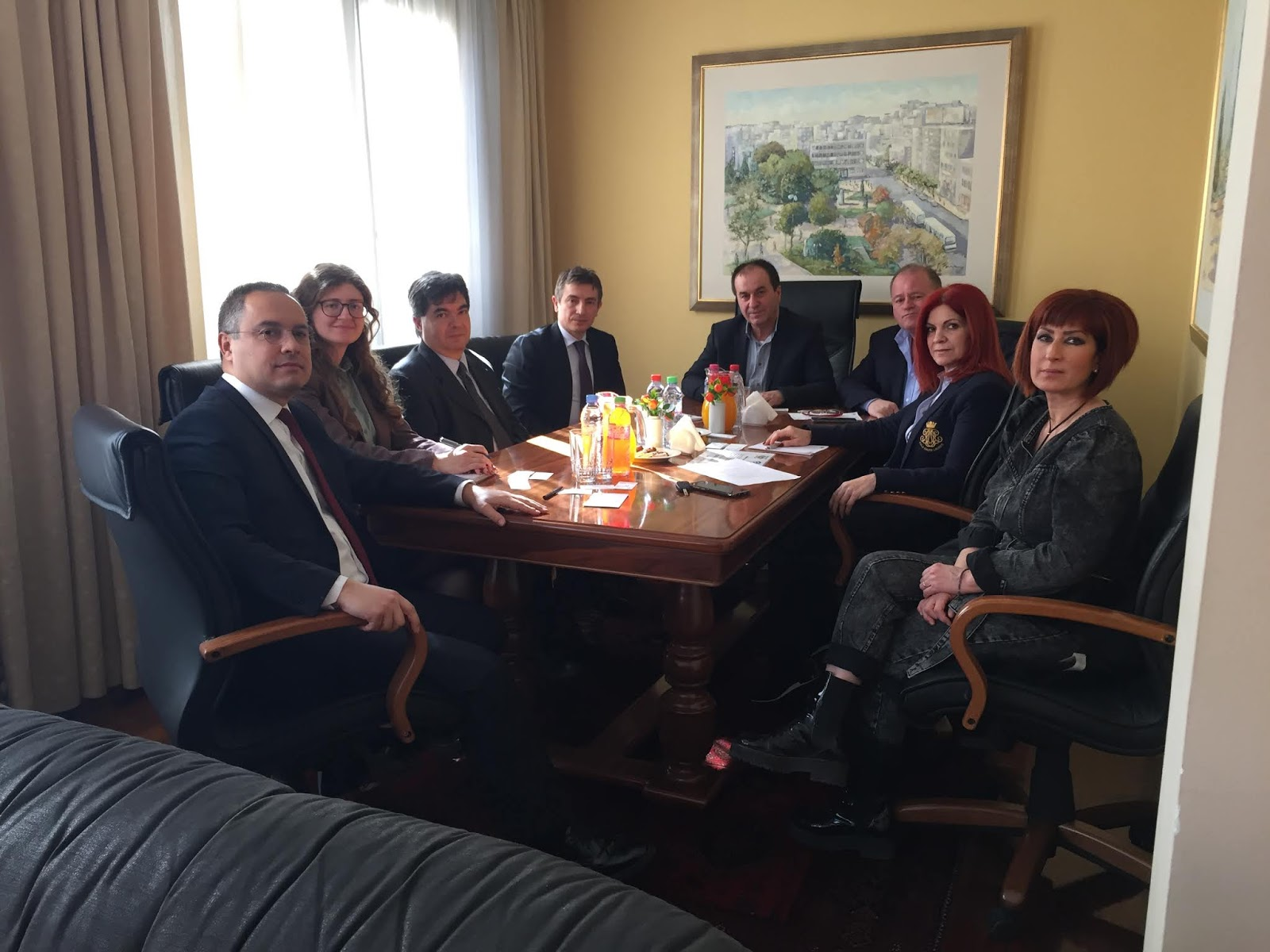 Ο Γενικός Πρόξενος της Τουρκίας στη Θεσ/νικη στο Επιμελητήριο Λάρισας
