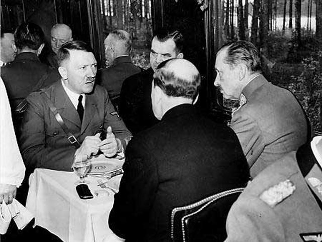 Hitler, Keitel, Mannerheim, and Ryti. 4 June 1942 worldwartwo.filminspector.com