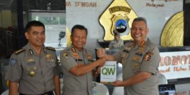 Kunjungan Tim Penelitian dan Supervisi Puslitbang Polri Diterima Irwasda Polda Jateng