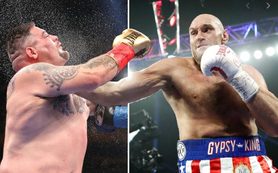 Andy Ruiz wants to fight Tyson Fury after Deontay Wilder's defeat