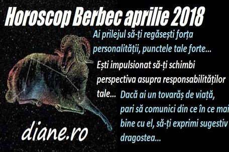 Horoscop aprilie 2018 Berbec