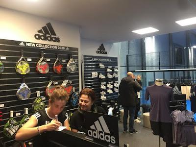 El Concepto 360º Adidas Pádel triunfa en Helsinborg, Suecia.