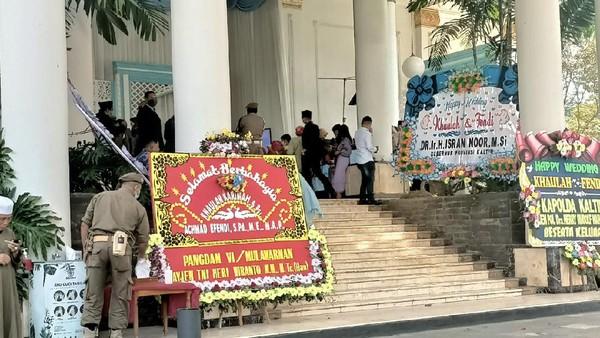 Wagub Kaltim Gelar Resepsi Pernikahan Putrinya, Sebar 2 Ribu Undangan