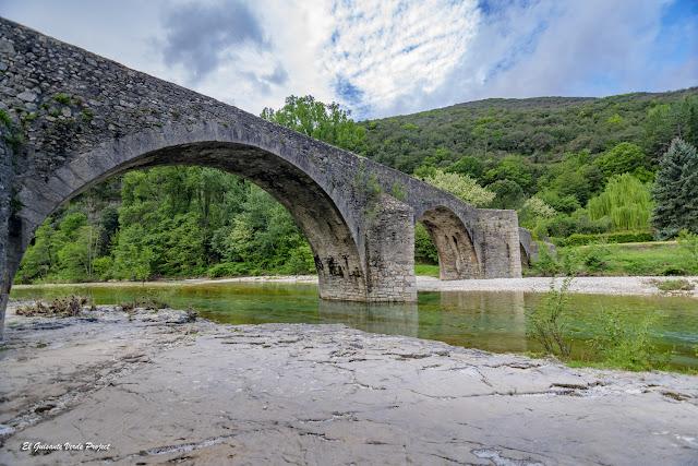 Pont des Camisards, Mialet - Francia, por El Guisante Verde Project