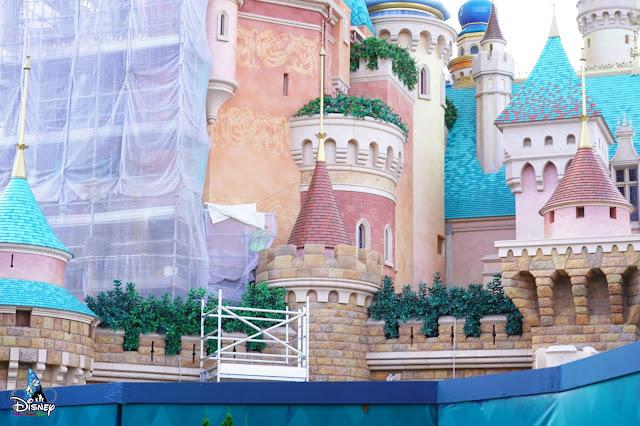 奇妙夢想城堡, Castle of Magical Dreams, 香港迪士尼樂園, Hong Kong Disneyland, HK, Construction Update, Disney Magical Kingdom Blog, HKDL Castle, HKDL, 香港迪士尼 Blog
