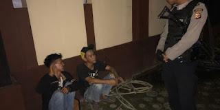 Polisi Karawang Ciduk Dua Bocah Mabok