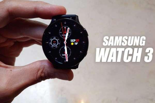 فيديو جديد مسرب لـ Galaxy Watch 3