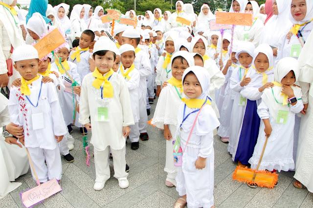 26 TK Kota Langsa Laksanakan Manasik Haji Cilik