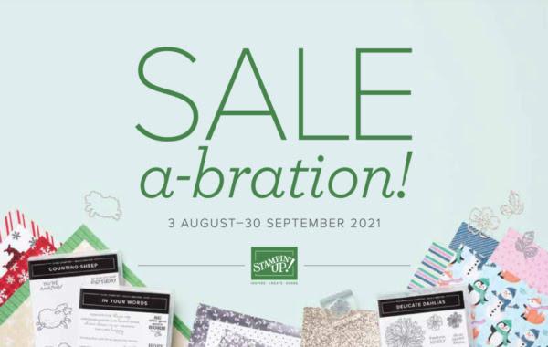 2021 August - September Sale-a-Bration Catalogue