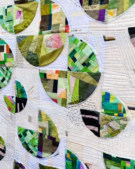 Terrarium Quilt details