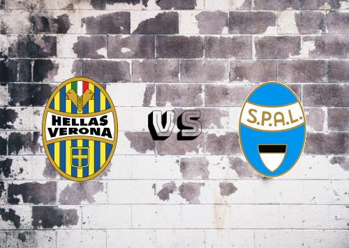 Hellas Verona vs SPAL  Resumen