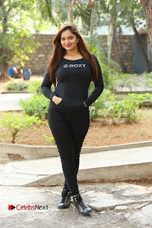 Actress Aswini Latest Stills in Black Denim Jeans  0171.JPG