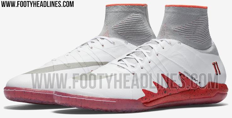 White   Crimson Nike HypervenomX Proximo Neymar x Jordan Boots ... e0fbfc4a9612c